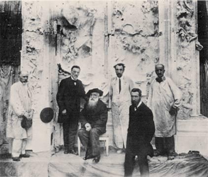 Rodin, Rudier, ... en 1917
