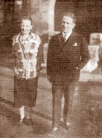 Kurt et Mary TUCHOLSKY au Vésinet en 1925