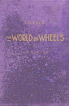 World on Wheels, H.O Duncan, Paris 1926
